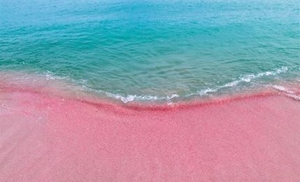 Top 10 peachy pink beaches in the world top 10 club for Pink sand beaches in the bahamas